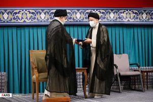 مراسم تنفیذ حکم ریاست جمهوری آیت الله سیدابراهیم رئیسی