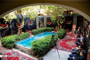 عزاداری سیدالشهدا (ع) در خانه تاریخی ملک
