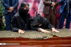 مراسم خاکسپاری زندهیاد علی سلیمانی