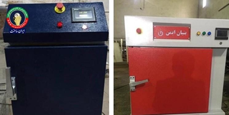 محققان شرکتی دانشبنیان موفق به ساخت دستگاه ضدعفونیکننده سطوح کاغذی شدند